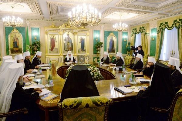 На заседании Священного Синода назначены епископы на вакантные кафедры