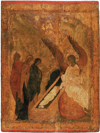 Мироносицы. XV век