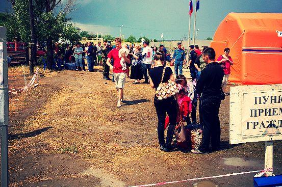 Как мы помогаем беженцам с Донбасса: Записки волонтера