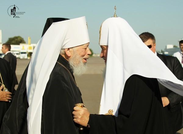 49 лет дружбы: Патриарх Кирилл о митрополите Владимире (+ Видео)