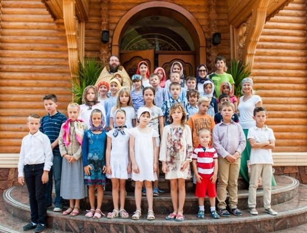 В Испании впервые состоялся православный детский лагерь