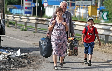 2000 украинских беженцев вывез и разместил в России Фонд Святителя Василия Великого