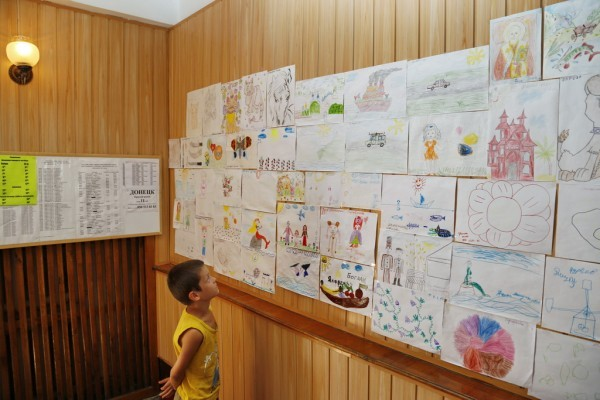 82. Галерея детских рисунков.