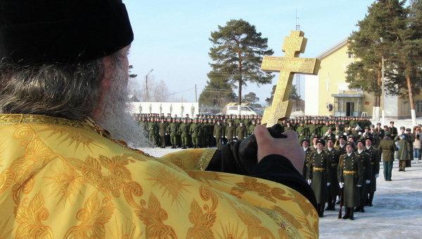 Готовить армейских священнослужителей будут в пяти военных вузах
