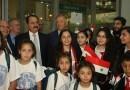 Православные дети Сирии прибыли на отдых в Россию