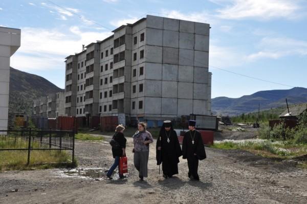 Еще один типичный пейзаж поселка Депутатский