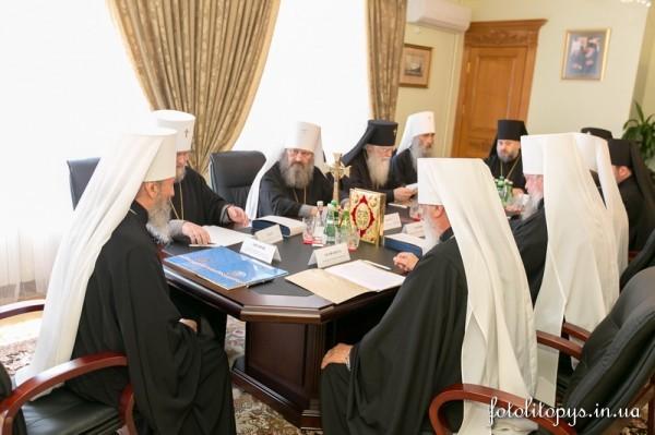 Журналы Священного Синода Украинской Православной Церкви (7 июля 2014 года)