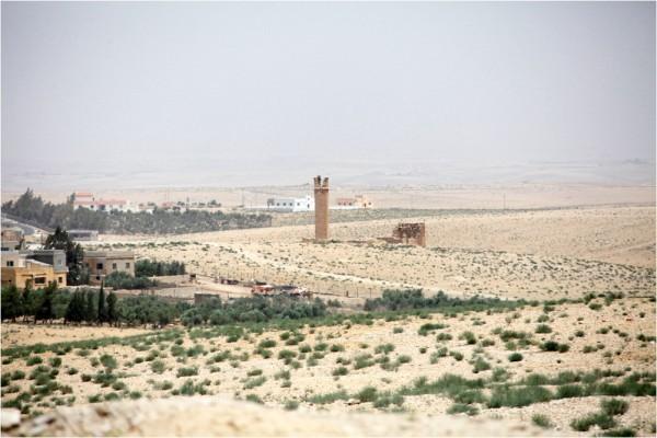 Ум-ар-Расас. Башни столпников