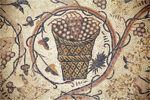 Ум-ар-Расас, фрагмент мозаики храма св. Стефана