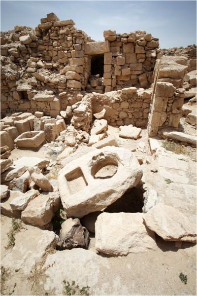 Ум-ар-Расас. Развалины военного лагеря римлян