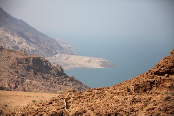 Берег Мёртвого моря у южной его оконечности