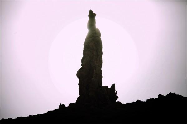 Соляной столп — скала «жена Лота» над Мёртвым морем