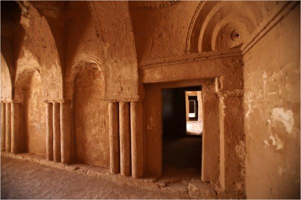 Каср-аль-Харрана. Интерьер жилых помещений.