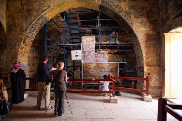 В Кусейр-Амре идут реставрационные работы