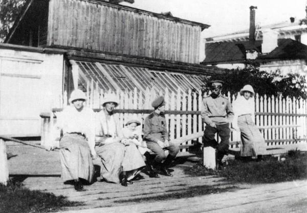 In captivity in Tobolsk,