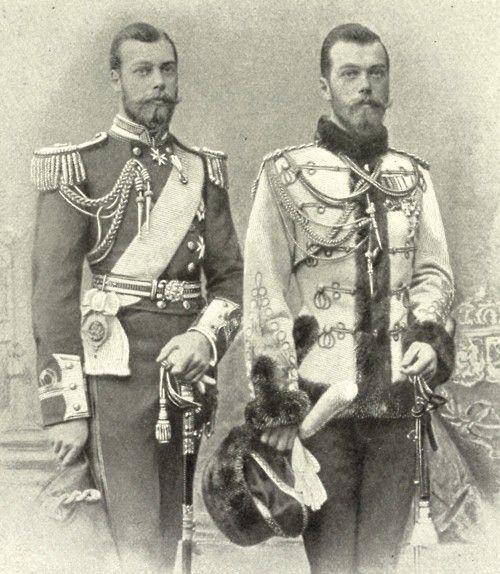 С будущим королем Георгом V