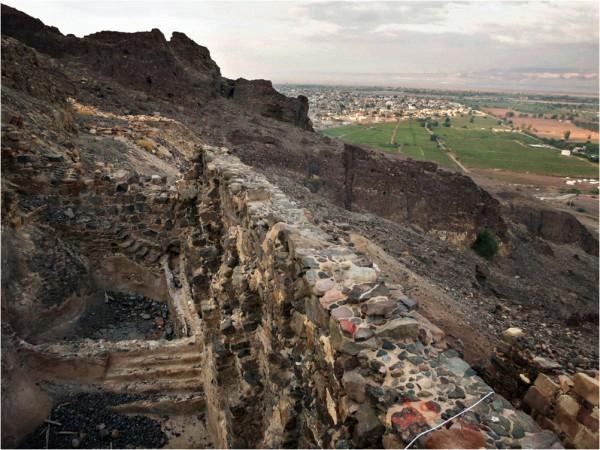 Развалины монастыря святого Лота. Фото: Paul Salopek