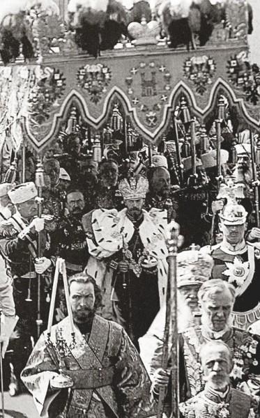 The Coronation of Emperor Nicholas II, May 1896.