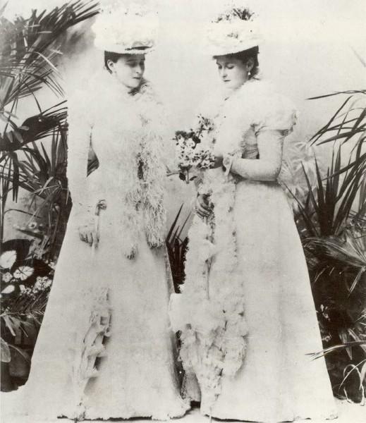 С Александрой Федоровной. 1898 год