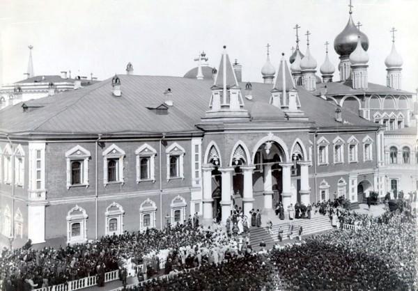 Чудов монастырь во время коронации Николая I