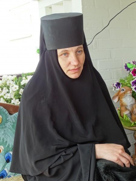 Одна из первых сестер обители монахиня Тихона. Фото Игоря Денисова