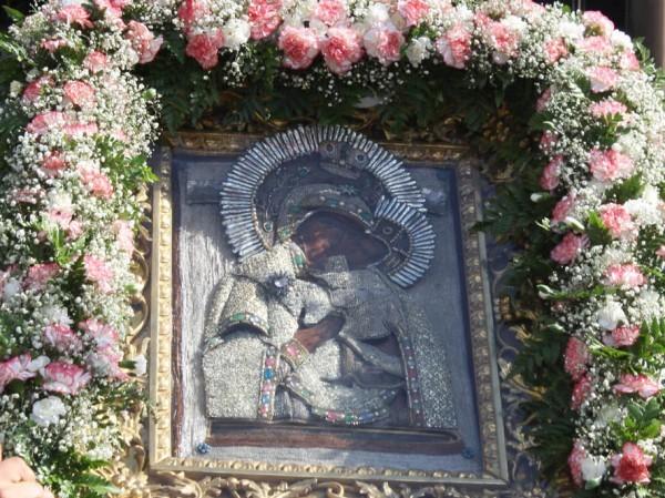 Выносной древний образ – икона Божией Матери Толгская