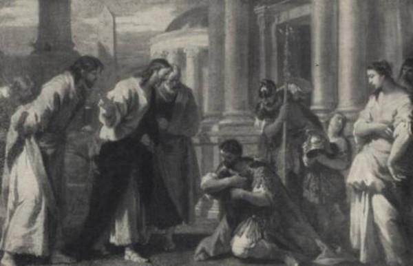 Себастьяно Риччи. Сотник перед Христом