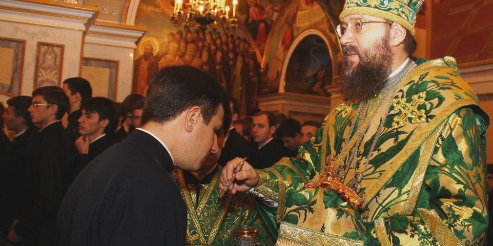 Митрополит Антоний (Паканич): «Я благодарен Богу за то, что Он определил мне носить имя этого великого святого»