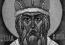 Архимандрит Макарий (Веретенников): Важнейшие вехи жизни  святителя Макария