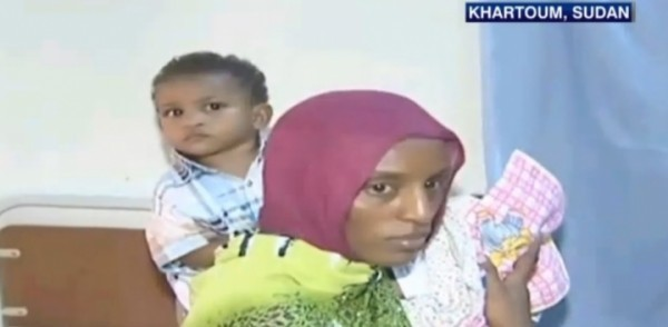 Христианка из Судана Мериам Ибрагим прибыла в Рим