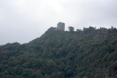 На Святой Горе Афон от удара молнии вспыхнул пожар