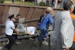 В результате аварии в московском метро три человека погибли, десятки пострадали