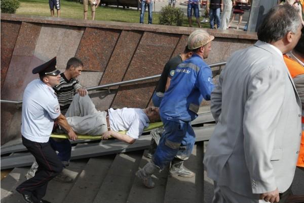 По данным МЧС при аварии в столичном метро погибли 19 человек