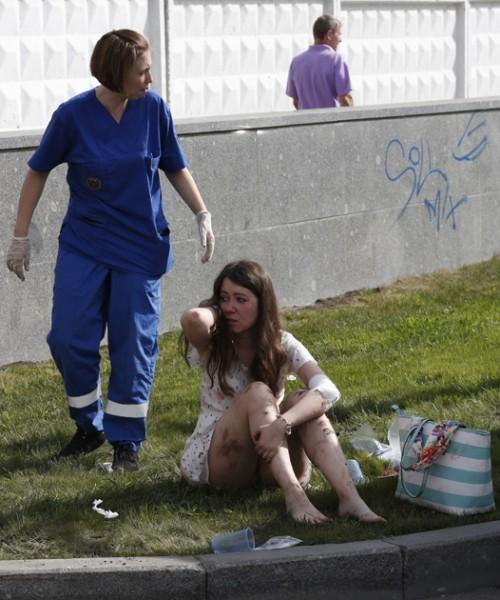 После аварии в московском метро 15 июля 2014 года. Фото: Михаил Джапаридзе / ИТАР-ТАСС