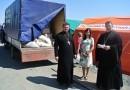 Более 30 тонн продуктов собрали для беженцев в Шахтинской епархии