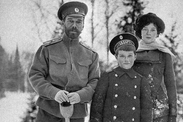 Редкие фотографии царской семьи