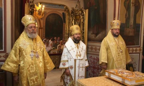 Митрополит Иларион: Апостолы и ныне являются нашими учителями, нашими небесными заступниками
