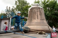 В Москву прибудет 18-тонный колокол «Александр Невский»