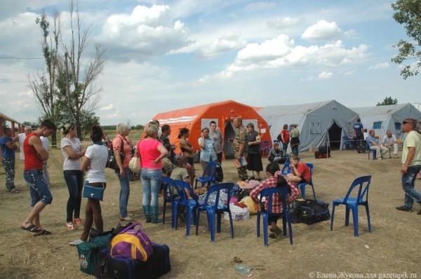Количество украинских беженцев в России приближается к миллиону
