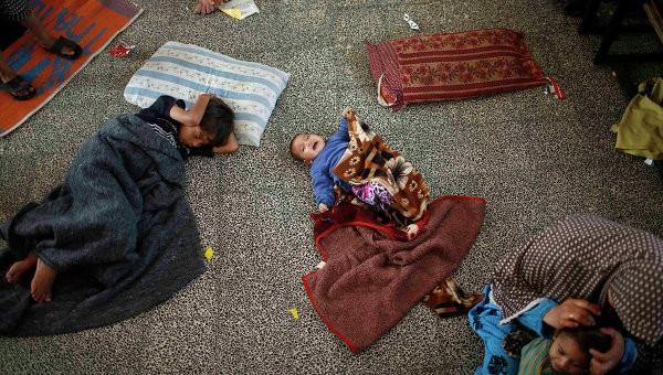 Императорское православное палестинское общество собирает помощь жителям сектора Газа