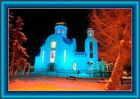 В Луганске обстреляли церковь во имя иконы Божией Матери «Умиление»