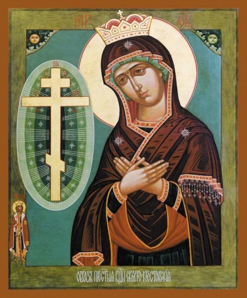 Свято-Крестовская икона Богородицы