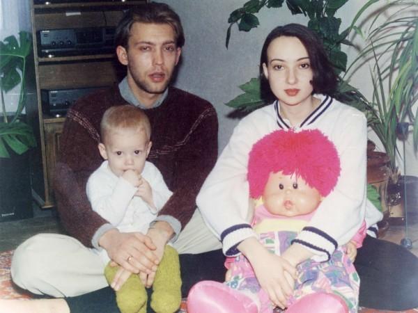 Веня с женой Полиной