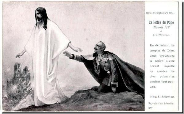 И французам Христос якобы открыл, что Он не любит немцев