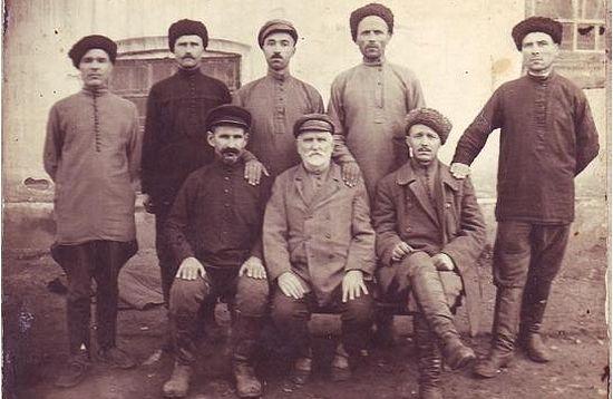 Кубанские казаки в счсылке