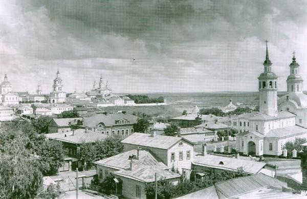Вятка. Панорама северо-восточной части города