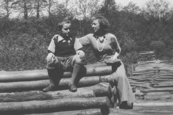 Марина Цветаева с сыном