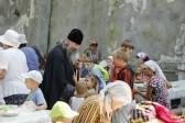В Святогорской Лавре на данный момент 800 беженцев, 300 из них — дети
