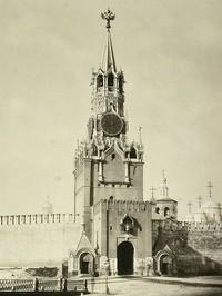 Икона на Спасской башне Кремля