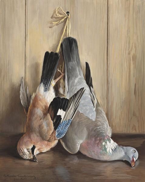 Птицы. 1955 год